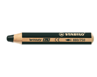 Stabilo Kleurpotloden  Woody 880/750 zwart
