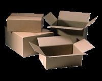 Cleverpack Verzenddoos  bulk 300x400x200mm bruin 25stuks
