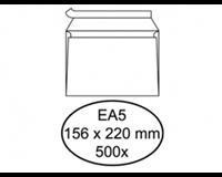 Quantore Envelop  bank EA5 156x220mm zelfklevend wit 500stuks