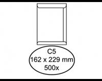 Quantore Envelop  akte C5 162x229mm wit 500stuks