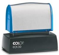 Colop EOS 30 Xpress stempel, inclusief blauwe cartridge
