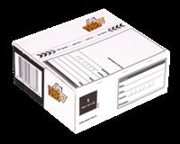Cleverpack Postpakketbox 6  485x260x185mm wit 25stuks