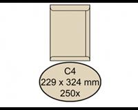 Quantore Envelop  akte C4 229x324mm cremekraft 250stuks