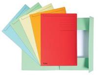 Exacompta dossiermap Foldyne ft 24 x 35 cm (voor ft folio), geassorteerde kleuren, doos van 25 stuks