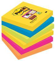 Memoblok  654-SSRO Super Sticky 76x76mm Rio
