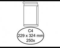 Quantore Envelop  akte C4 229x324mm zelfklevend wit 250stuks