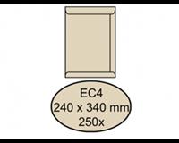 Quantore Envelop  akte EC4 240x340mm cremekraft 250stuks