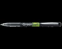 Rolschrijver Greenball 0.4 mm. zwart (pak 10 stuks)