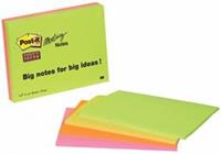Memoblok  6845SSP Super Sticky 149x200mm assorti