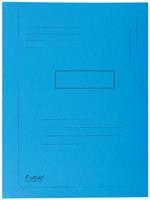 Dossiermap  Forever 290gr 2kleppen blauw