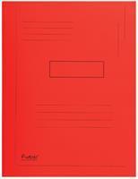 Dossiermap  Forever 290gr 2kleppen rood