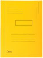 Dossiermap  Forever 290gr 2kleppen geel