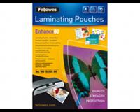 fellowes Lamineerhoes  A4 zelfklevend 2x80micron 100stuks