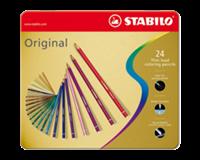 Stabilo Kleurpotloden  Original blik à 24 kleuren