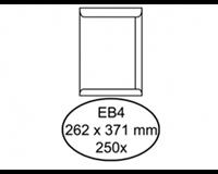 Quantore Envelop  akte EB4 262x371mm wit 250stuks