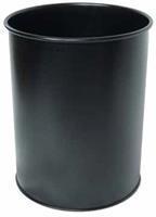 Durable Papierbak economy metaal 15 liter. zwart. hoogte 31.5 cm