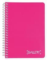 Gallery notitieboek Passion For Colour, ft A6, geruit 5 mm, 160 bladzijden, geassorteerde kleuren