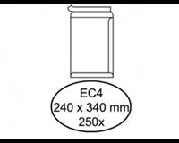 Quantore Envelop  akte EC4 240x340mm zelfklevend wit 250stuks