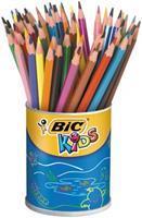 BIC Kids kleurpotlood Evolutions, pot met 60 stuks