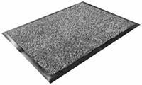 Floortex Deurmat  binnen 60x90cm grijs