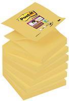 Memoblok  Z-Note S330-Y 76x76mm Super Sticky geel