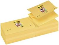 Memoblok  Z-Note S350-Y 76x127mm Super Sticky geel