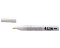 Pilot Viltstift  Super SC-W-M lakmarker rond wit 2mm
