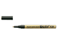 Pilot Viltstift  Super SC-G-F lakmarker rond goud 1mm