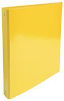 Exacompta Iderama ringmap, ft A4, rug van 4 cm, geel