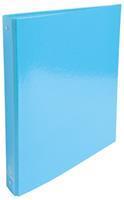Exacompta Iderama ringmap, ft A4, rug van 4 cm, lichtblauw