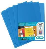 Elba L-map Shine, blauw, pak van 10 stuks