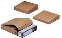 Colompac verzenddoos voor ordners CP058, ft 32,2 x 29,5 x 5 cm, bruin
