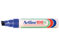 Artline Viltstift  100 schuin blauw 7.5-12mm