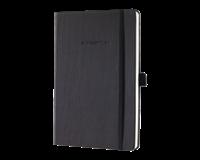 Sigel Notitieboek Conceptum CO132 A6 zwart lijn