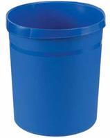 Vepa Bins Papierbak kunststof 18L. blauw. hoogte 31 cm