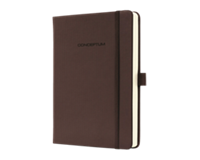 Sigel SI-CO574 Notitieboek Conceptum Pure Hardcover A6 Bruin Gelinieerd