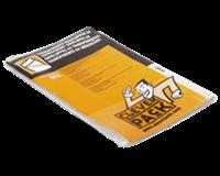 Cleverpack Envelop  akte A4 220x300mm zelfkl. transp. 50stuks