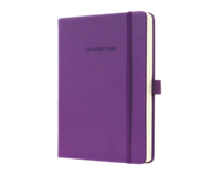 Sigel SI-CO570 Notitieboek Conceptum Pure Hardcover A6 Paars Gelinieerd