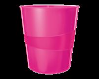 Papierbak  WOW 15liter roze