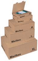 Colompac verzenddoos extra small, ft 24,5 x 14,5 x 3,3 cm, bruin