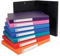 Exacompta elastobox rug van 2,5 cm geassorteerde kleuren