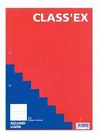 Class'ex cursusblok, gelijnd, blok van 100 vel