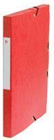 5 Star elastobox, rug van 2,5 cm, rood