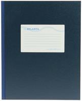 Jalema Breedkwarto  128blz lijn blauw