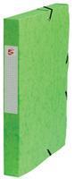 5 Star elastobox, rug van 4 cm, groen