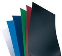 Voorblad  A4 Polycover 300micron zwart 100stuks