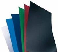 Voorblad  A4 Polycover 300micron blauw 100stuks