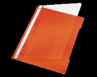 Leitz Hechtmap 1-100 vel. oranje (doos 25 stuks)