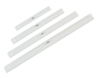 Liniaal M+R 1140 400mm plastic transparant