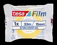 TESA Plakband  film standaard 15mmx33m